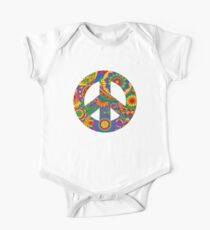 Happy Hippy Psychedelic Rainbow Design Kids Clothes