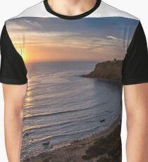 Lunada Bay Sunset Graphic T-Shirt