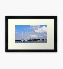 At Cape May Bay  Framed Print