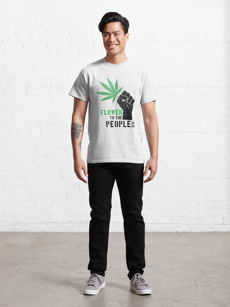 Alternate view of Flower to the People Classic T-Shirt