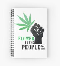 Flower to the People Spiral Notebook