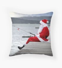 Merry Christmas from the Jetty Throw Pillow
