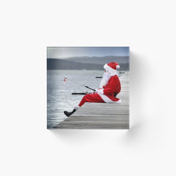 Merry Christmas from the Jetty Acrylic Block