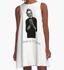 Jeff Goldblum  A-Line Dress