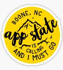 Appalachian State - Style 51 Sticker