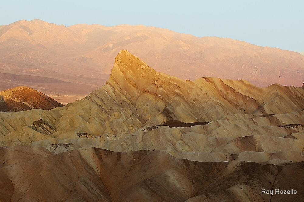 Zabriskie Point / Death Valley by Ray Rozelle