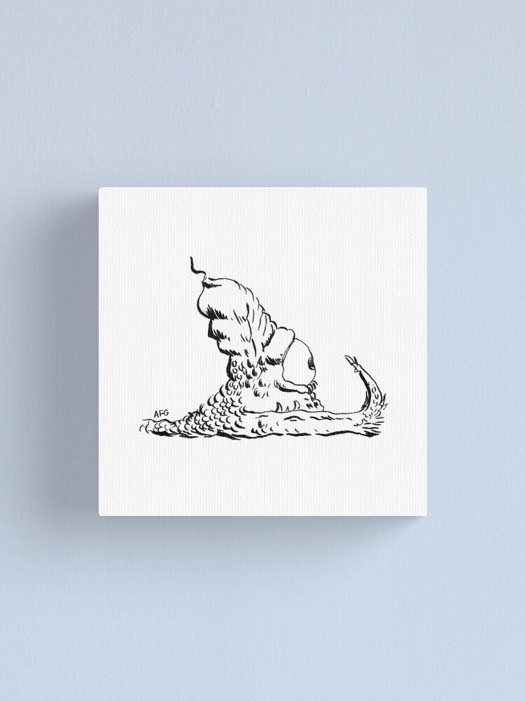 Alternate view of Slug Canvas Print