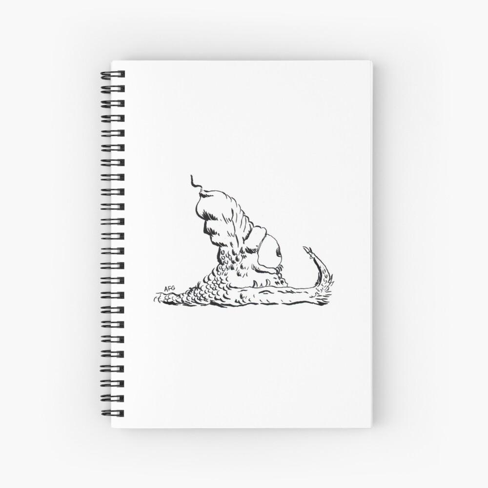 Slug Spiral Notebook