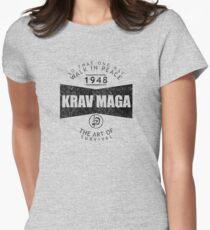 Krav Maga The Art Of Survival Women's Fitted T-Shirt