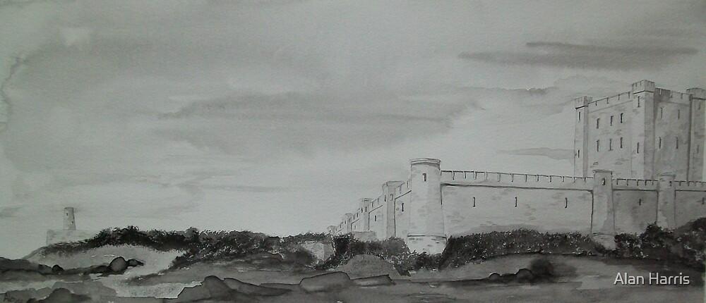"""Bamburgh Castle"" by Alan Harris"