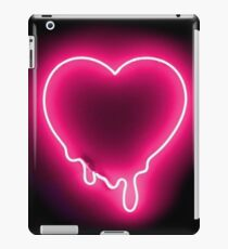 Dripping Neon Heart iPad Case/Skin