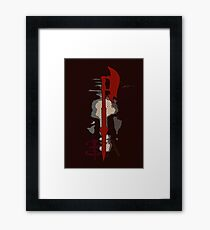 Buffy & Angel Framed Print