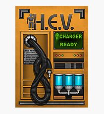 HEV Charger Photographic Print