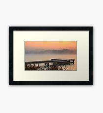 The Last Historic Pier,Anglesea,Great Ocean Road,Australia. Framed Print