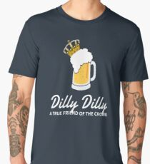 Dilly Crown Beer Shirts Dilly True Friend of the Crown Men's Premium T-Shirt