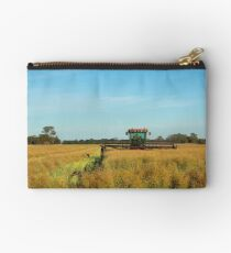 Red Hills ...Dookie.. Windrowing Canola. Studio Pouch