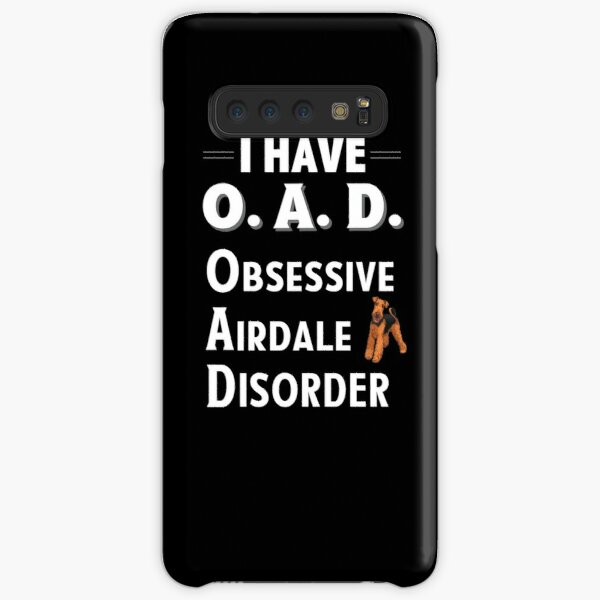 I Have OAD Obsessive Airdale Disorder Samsung Galaxy Snap Case