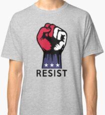 Nein zu politischer Korruption in den USA. Widerstand bekämpfen Classic T-Shirt