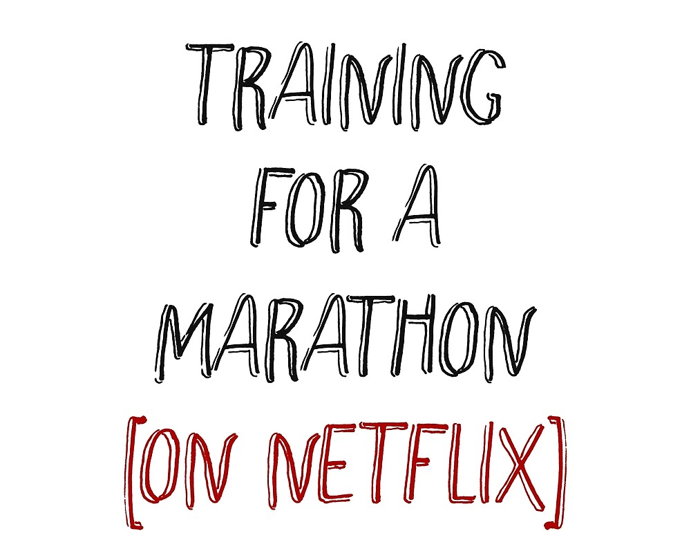 Training for a Marathon [On Netflix] by #PoptART products from Poptart.me