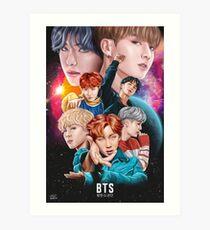 BTS DNA Fan Art Art Print