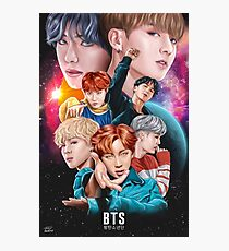 BTS DNA Fan Art Photographic Print