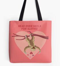 Love Sloths - Head Over Heels Tote Bag