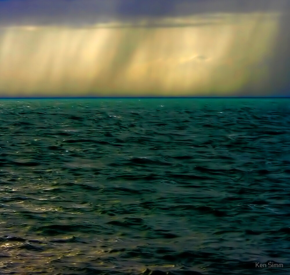 Hail over the sea by Kenart