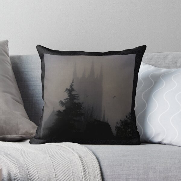 The Cathedral, Bury St Edmunds, Great Britain by Cate Davies Throw Pillow