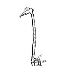 Inktober 2015 Day 19 - Long Neck by Aaron Gonzalez