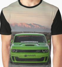 Widebody Dodge Hellcat Graphic T-Shirt