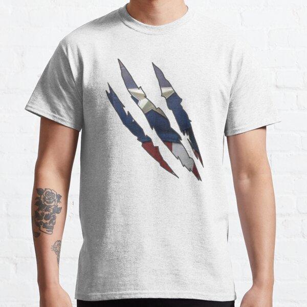 Marvel Captain America Torn T-Shirt Gar/çon