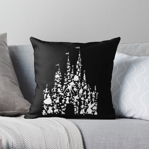 Happiest Castle On Earth Inverted Throw Pillow