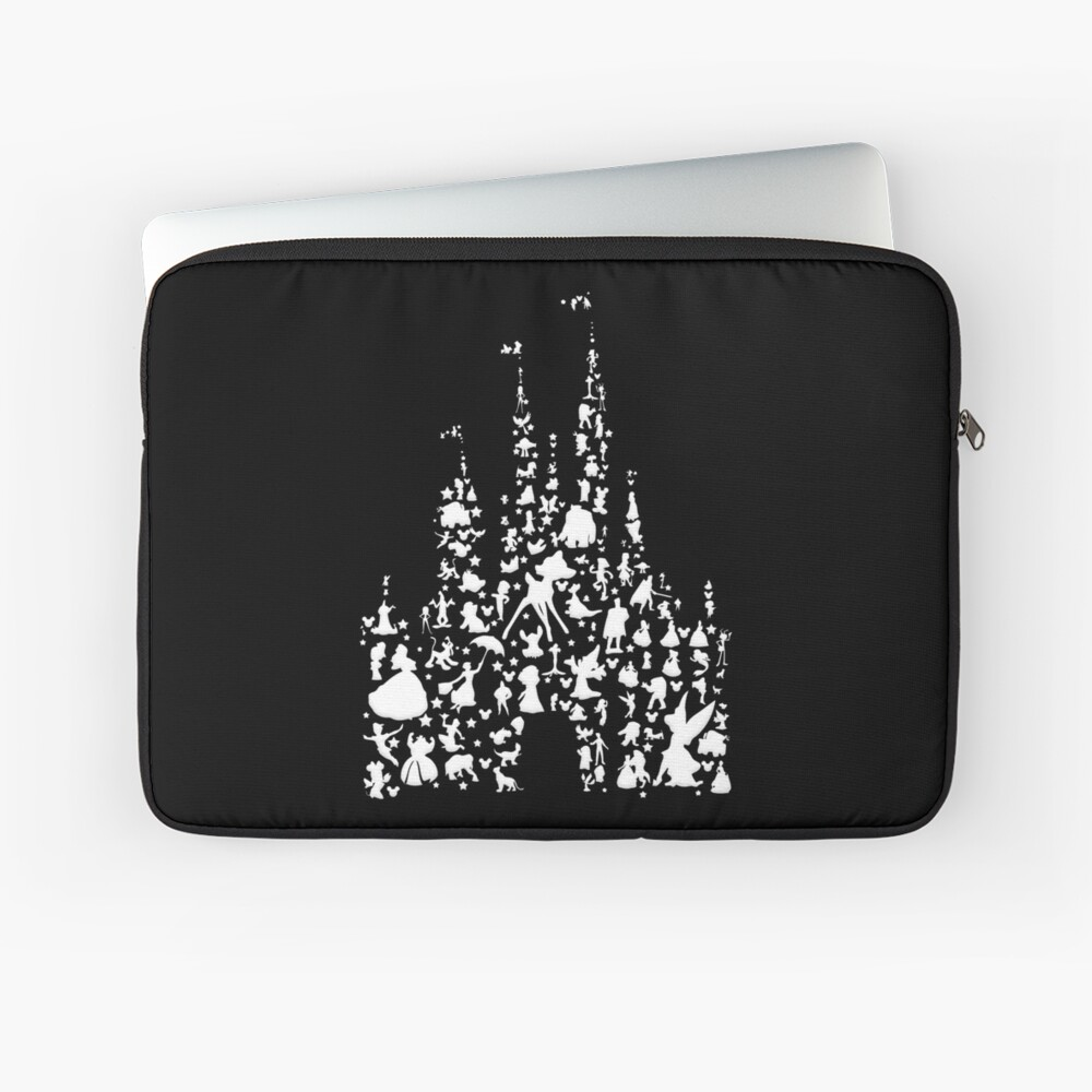 Happiest Castle On Earth Inverted Laptop Sleeve Front