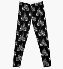 Happiest Castle On Earth Inverted Leggings