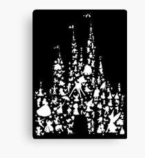 Happiest Castle On Earth Inverted Canvas Print