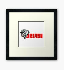Ultraman Act X SH : Seven Framed Print