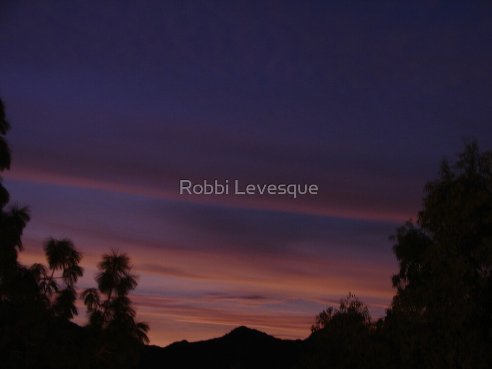 Early Morning Sky by Robbi Levesque