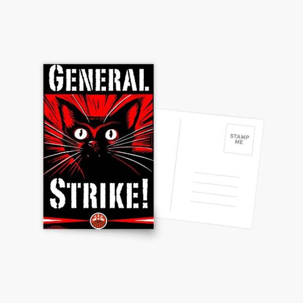 IWW General Strike Sabocat Postal