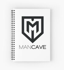 ManCave Personal Items Spiral Notebook