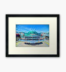 CLASIC OLD CAR FRONT MATRIX FOUR Framed Print