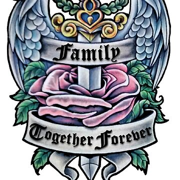 Family shield - Together Forever by AnderArtes