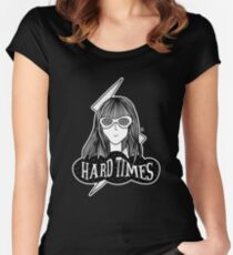 HARD TIMES Women's Fitted Scoop T-Shirt