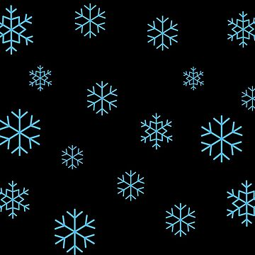 Blue Snowflakes by Koshee15