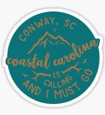 Coastal Carolina - Style 51 Sticker