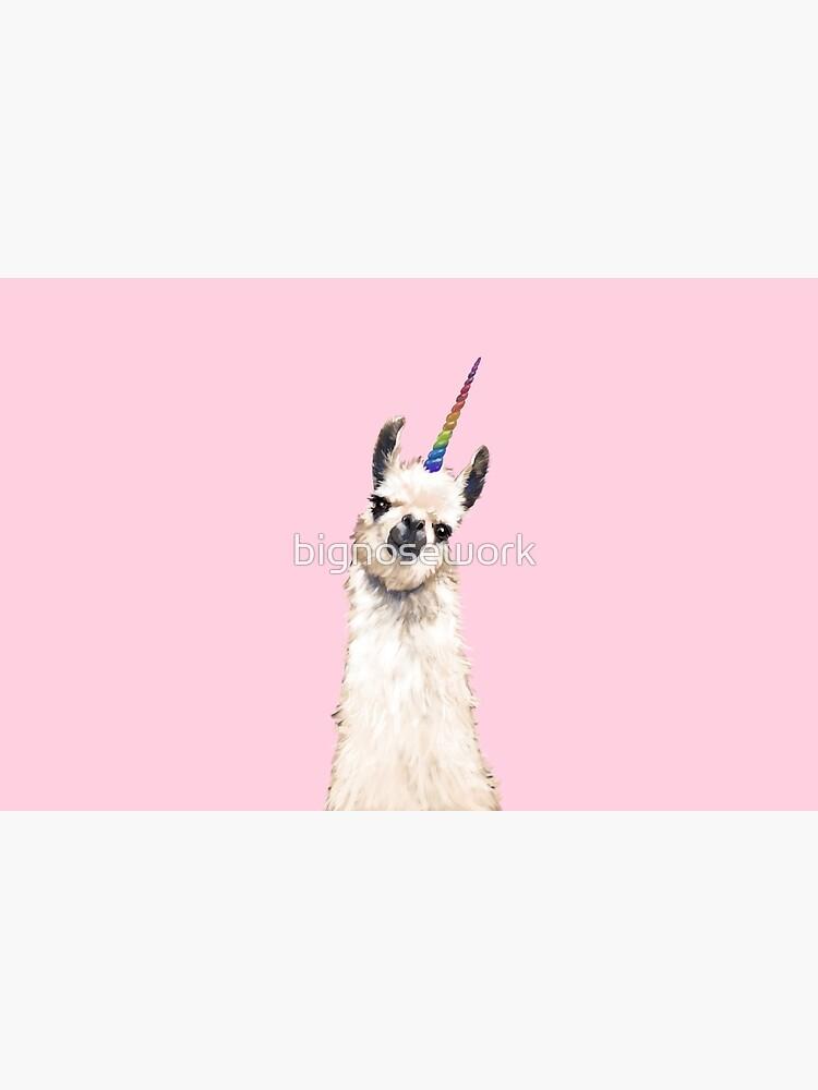 Unicorn Llama by bignosework