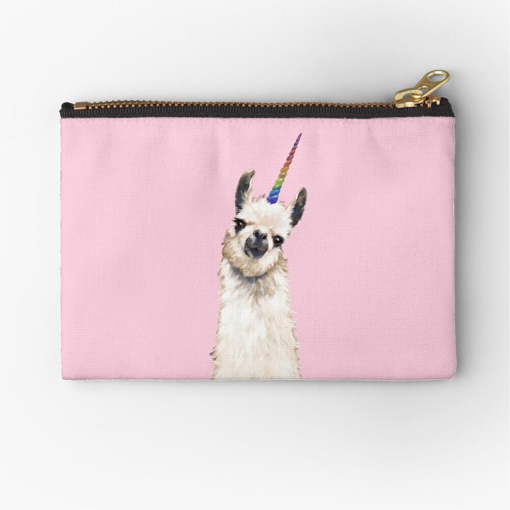 Unicorn Llama Zipper Pouch
