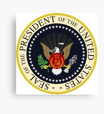 Seal of the President of the United States (Revised 2017) Canvas Print