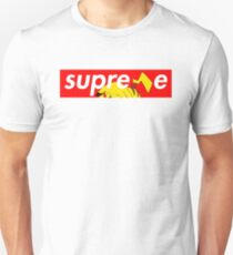 Supreme Pikachu T-Shirt