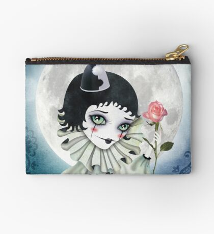 Pierrette Under the Icy Moon Zipper Pouch