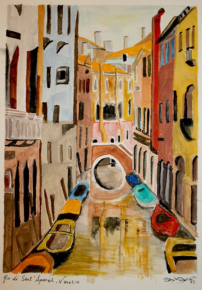 Venice Watercolour by Stormswept